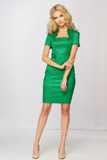 Платье Интригующий изумруд