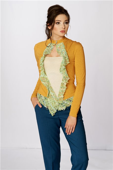Блуза Терракотовое плетение