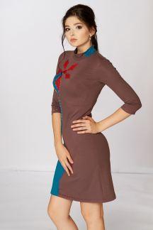 Платье Коралловый цветок
