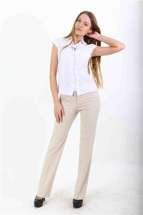 Блуза Белоснежный пунктир