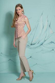 Блуза Розовое золото