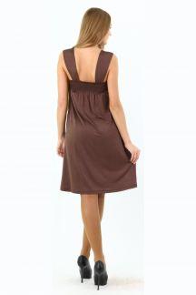 Платье Шоколадный водопад