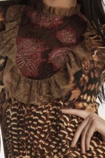 Платье Аромат шоколада
