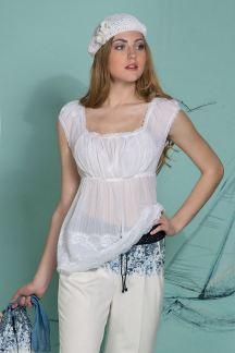 Блуза Воздушная ваниль