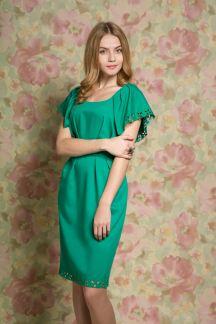 Платье Изумрудные узоры