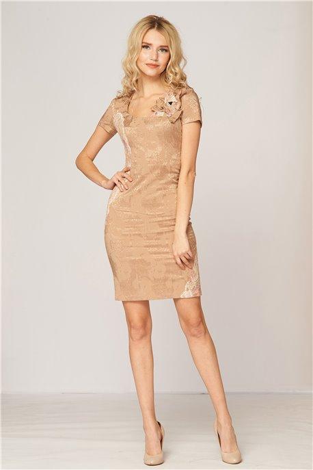 Платье Крем-брюле