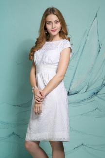 Платье Белоснежные узоры