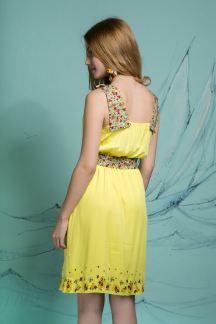 Платье Цветочная симфония