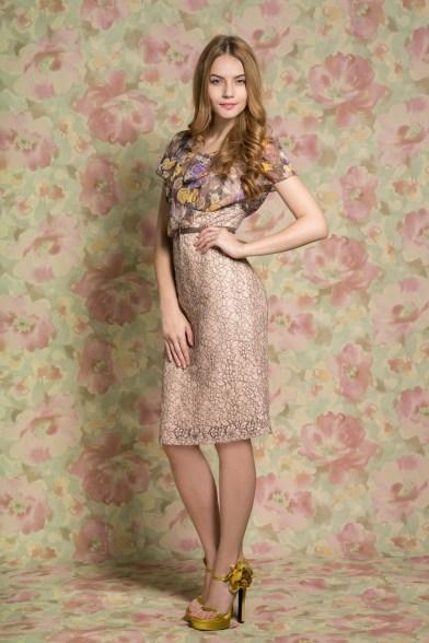 Платье Цветочная палитра