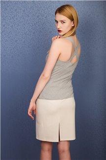 Блуза Серый питон