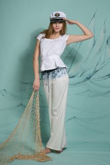 Блуза Белый рассвет