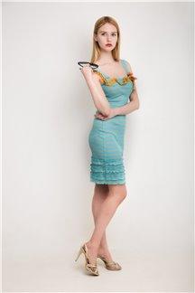 Платье Лазурный берег
