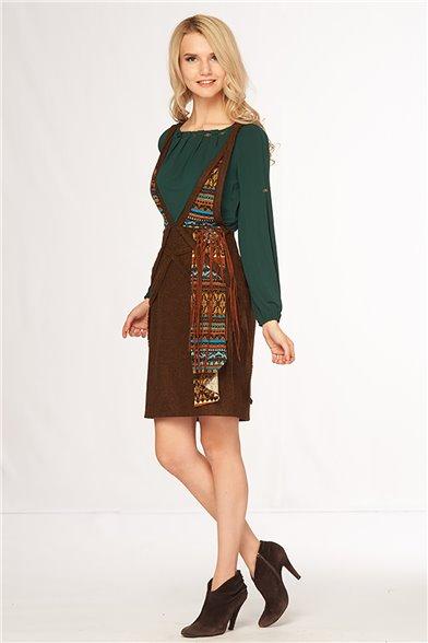 Платье Терракотовая этника