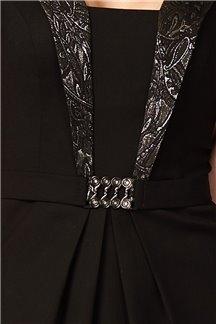 Платье Серебристый мотив