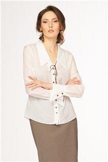 Блуза Белоснежная мережка