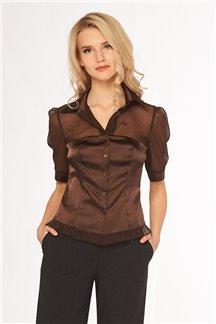 Блуза Темный шоколад