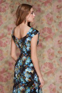 Палтье Танго голубых цветов