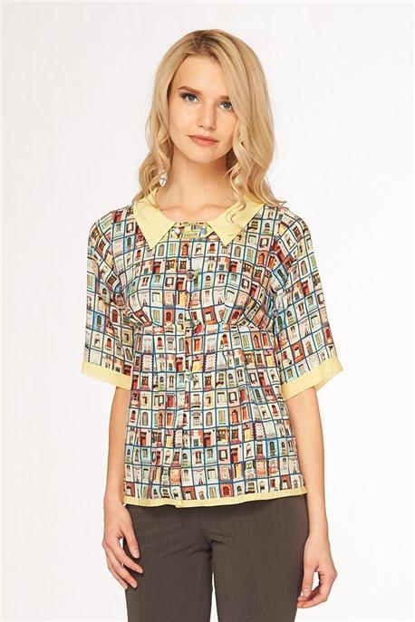 Блуза Окна Парижа
