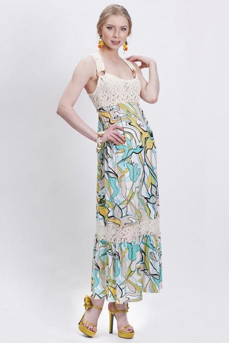 Платье Солнечные переливы