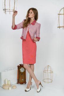 Жакет Розовый пунш