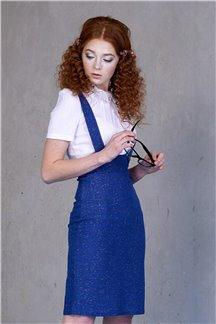 Платье Мерцающий сапфир