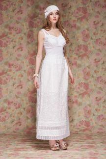 Платье Роскошь белого