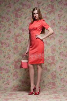 Платье Коралловое совершенство