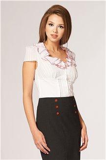 Блуза Белоснежная лёгкость