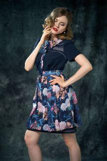Платье Цветочная ночь