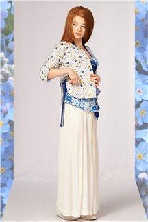 Блуза Синий первоцвет