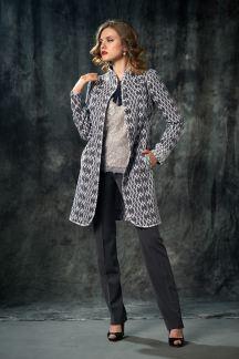 *215-6175 Блуза Таинственный серый