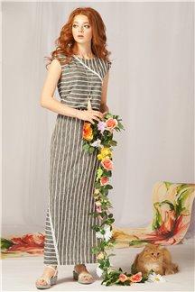 Платье Дымчатый бриз - М