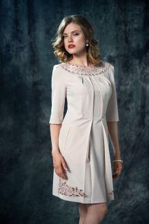 Платье Бежевый рассвет