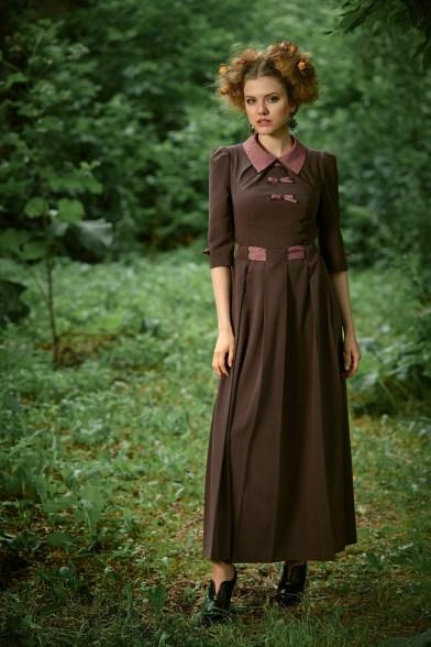 Платье Ежевичное настроение
