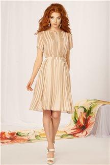 Платье Сливочный мокко - М