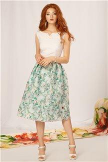 Платье Яблоневый цвет - М