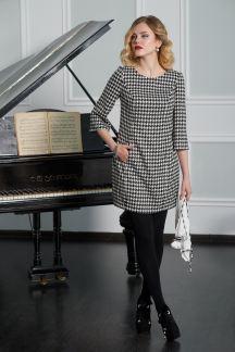 Платье Шахматное настроение