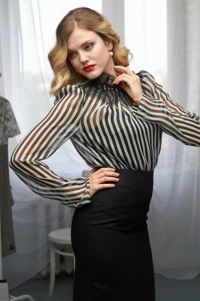 Блуза Кружевной ритм