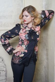 Блуза Цветочная тайна