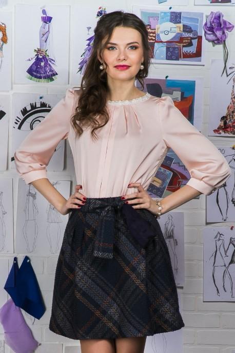 Блуза Жемчужная пудра