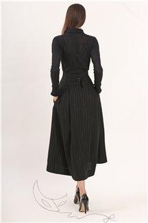 Блуза (черная) Ноттэ фонда - М