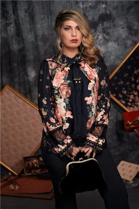 Блуза Цветочная тайна - М