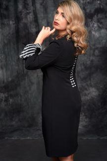 Платье Черный бутон - М