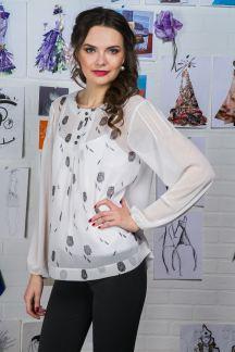Блуза Снежный пух