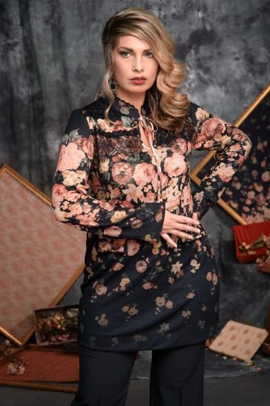 Блуза Пленительный аромат - М