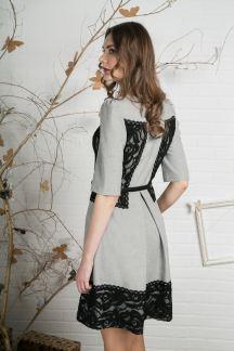 Платье Цветочная геометрия