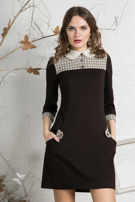 Платье Кофе с корицей