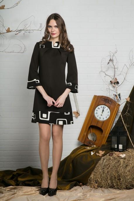 Платье Шоколадный пудинг