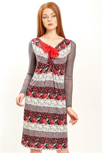 Платье Кружевные розы