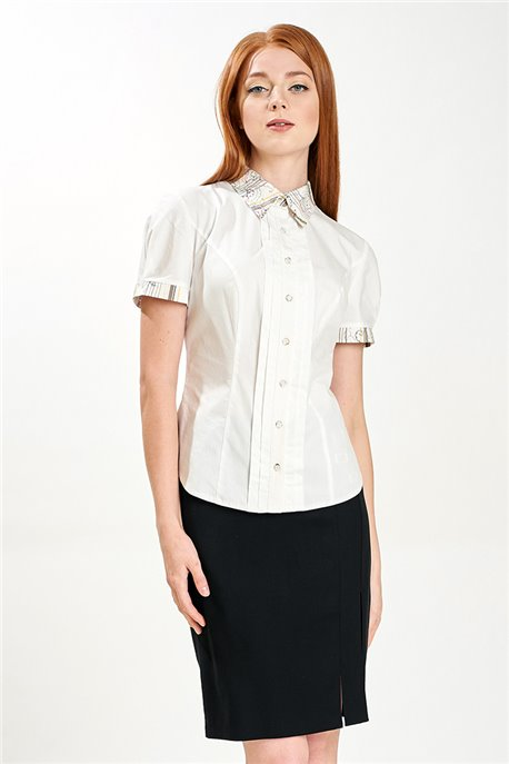 Блуза Белая феерия